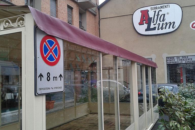 Dehor per esercizio commerciale ubicato in Torino - Casi di studio Venturello