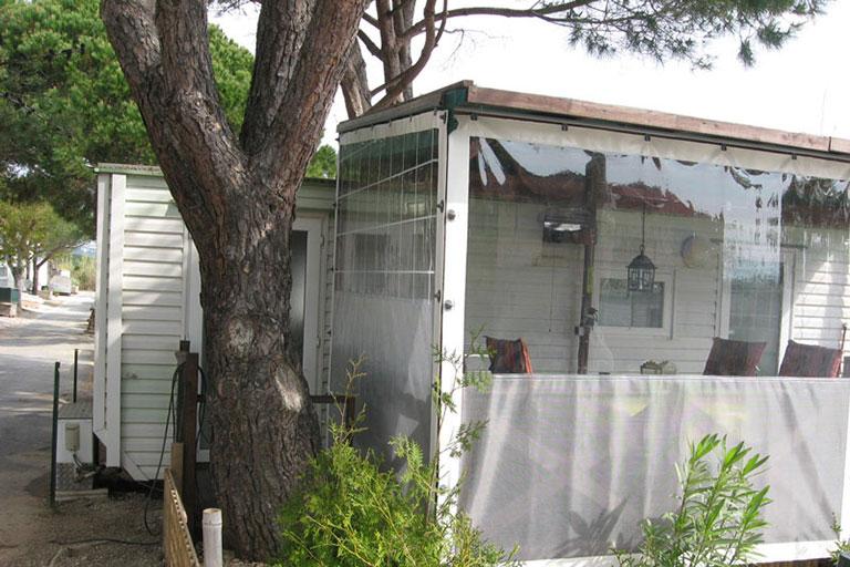 Chiusure verande per camping in Costa Azzurra - Casi di studio Venturello