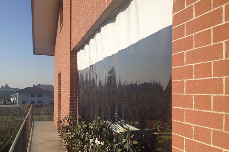 Chiusura terrazza coperta esterna - Casi di studio Venturello