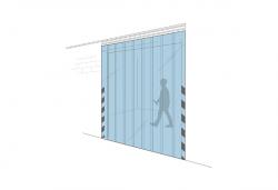 Porte in strisce PVC - Venturello
