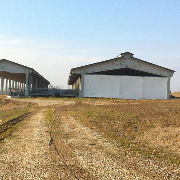 Settori di utilizzo - lavorazioni in PVC per Agricoltura