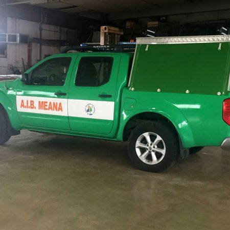 AIB-MEANA - Telone sagomato veicolo protezione civile - Teloni per camion - Venturello