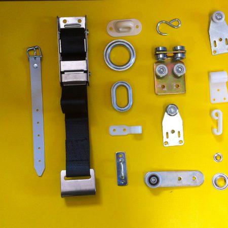 Ancoraggi e accessori per Teli in PVC - Venturello