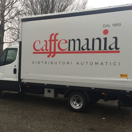 CAFFEMANIA - Telone Furgone - Teloni per camion - Venturello