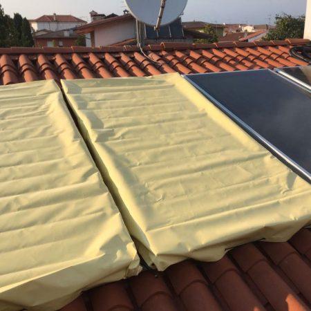 Cappuccio di protezione pannelli solari - Venturello