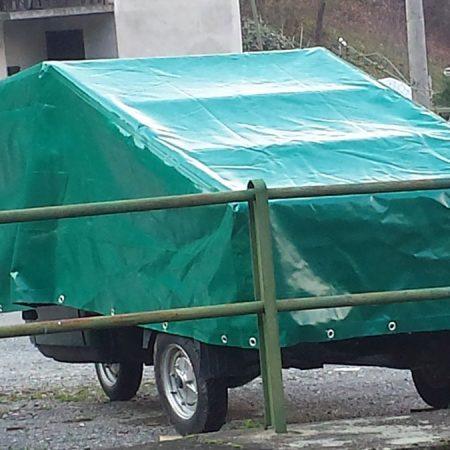 Cappuccio protezione carrello - Venturello