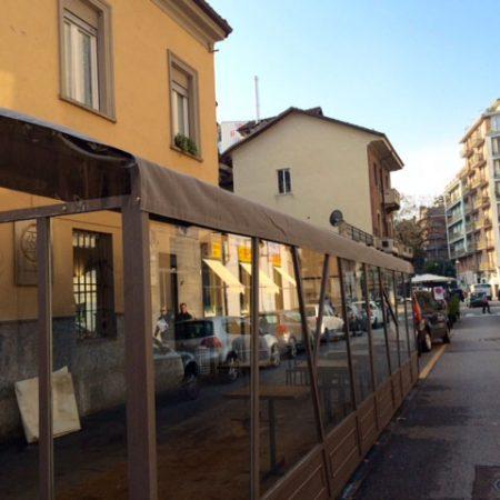 Chiusura Dehors Torino - Venturello