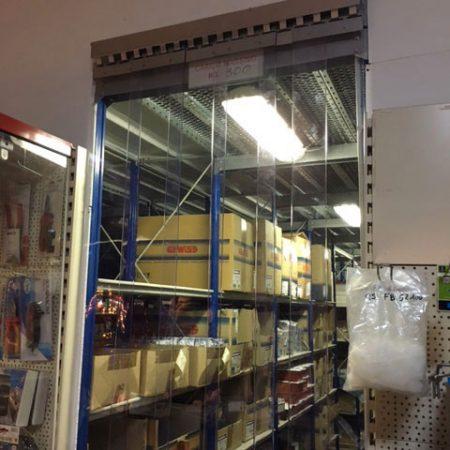 Chiusure a strisce per area magazzino - Venturello