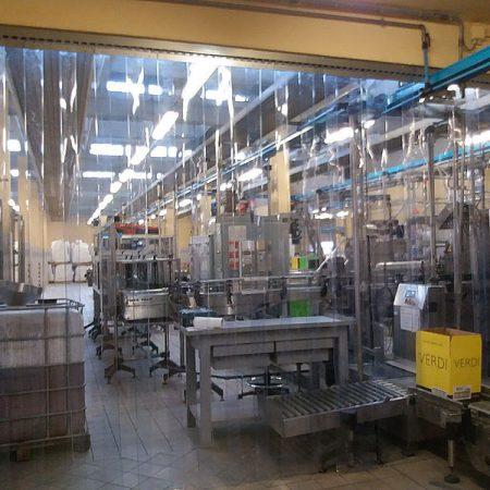 Chiusure a strisce per laboratorio - Porte in strisce PVC - Venturello
