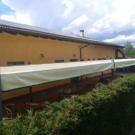 Copertura Area Esterna Hotel La Siesta Villastellone - Venturello