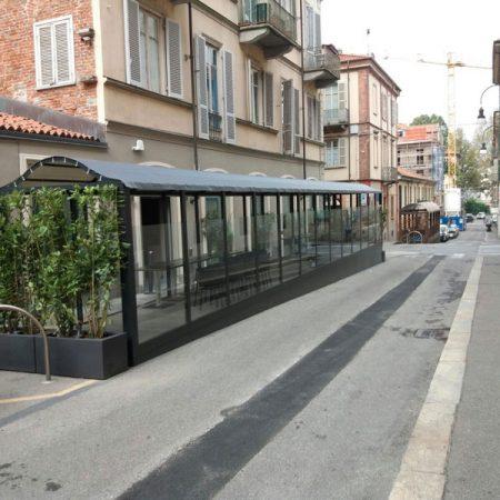 Copertura Cannavacciuolo Bistrot Torino - Venturello
