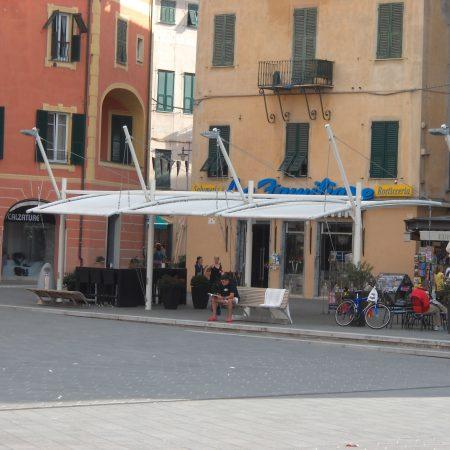 Copertura Tensostruttura per locale Finale Ligure_Savona - Venturello
