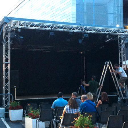 Copertura palco per spettacolo Moncalieri (TO) - Venturello