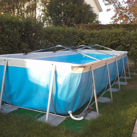 Copertura piscina fuori terra - teloni per piscine - Venturello