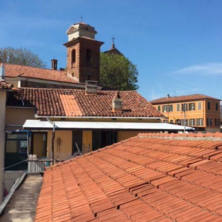 Copertura terrazzo privato - Venturello