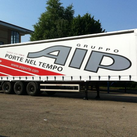 Telone camion centinato scorrevole - Teloni e teli in PVC - Venturello