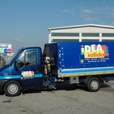 IDEA SOLIDALE TORINO - Copertura automezzo - Teloni per camion - Venturello