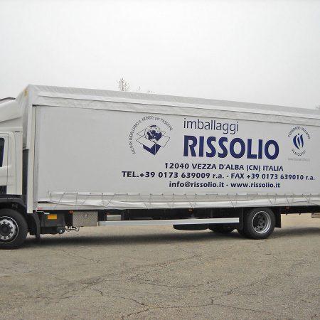 IMBALLAGGI RISSOLIO - Teloni per camion - Venturello