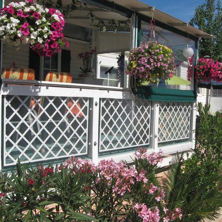 Chiusure Camping KONTIKI, Saint Tropez, Francia - Chiusure per esterno - Venturello
