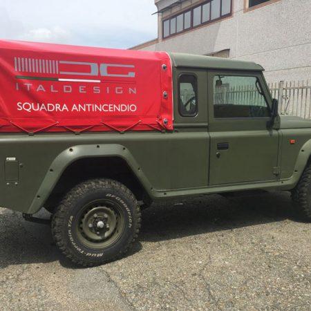 ITALDESIGN - Telone sagomato veicolo - Teloni per camion - Venturello