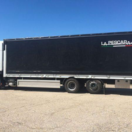 LA PESCARA - Telone camion - Venturello
