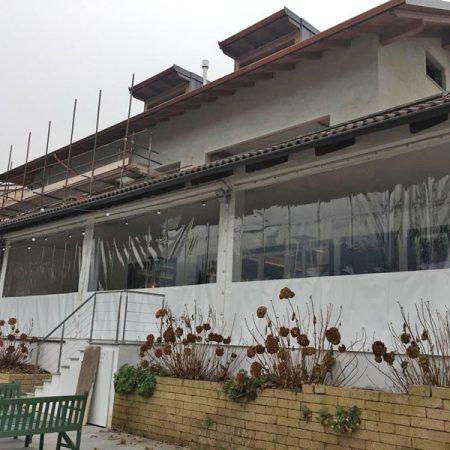 Laterali scorrevoli per locale uso ristorazione (vista esterna) - Venturello