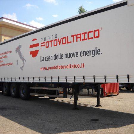PUNTO FOTOVOLTAICO - Teloni per camion - Venturello