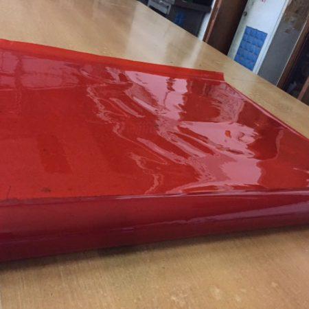 PVC trasparente rosso - Venturello
