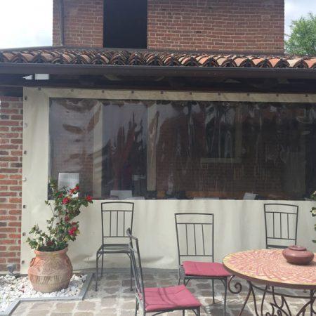 Pareti laterali chiusura tettoia - Chiusure per esterno - Venturello