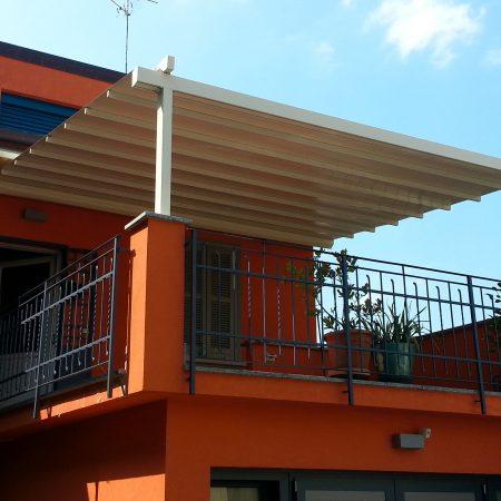 Pergola copertura terrazzo - Dehors e pergole - Venturello