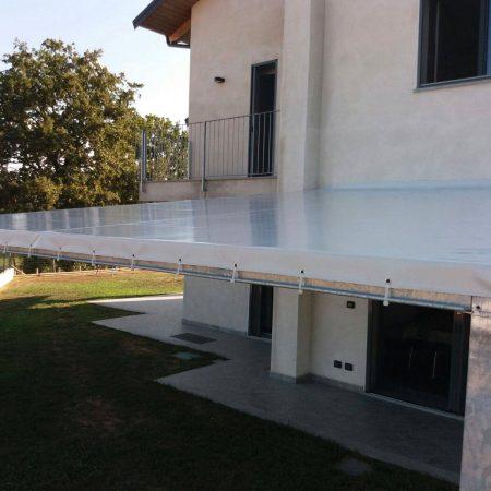 Pergolato esterno alluminio - Dehors e pergole - Venturello