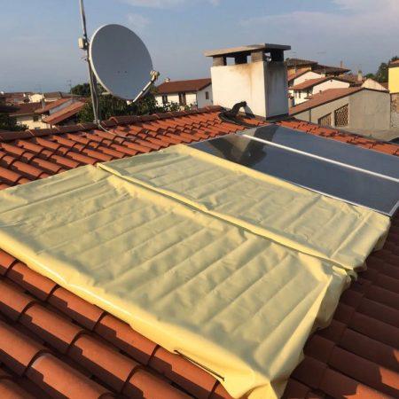 Teli di copertura per pannelli solari - Venturello