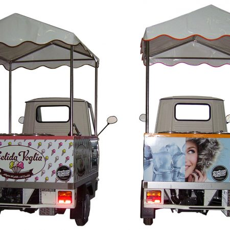 Teli in PVC copertura autonegozi - Teloni per camion - Venturello