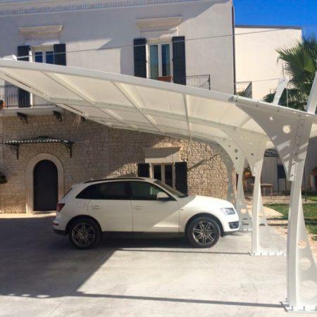 Telo copertura pergola ad uso parcheggio - Dehors e pergole - Venturello