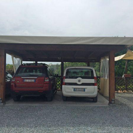 Telo copertura tettoia uso parcheggio - Venturello
