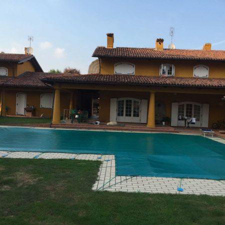 Telo copripiscina casa privata - Teloni per piscine - Venturello