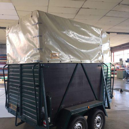 Telo in PVC di copertura carrello - Venturello