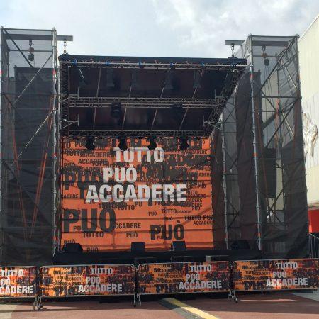 Telo palco evento - Moncalieri (TO) - Venturello