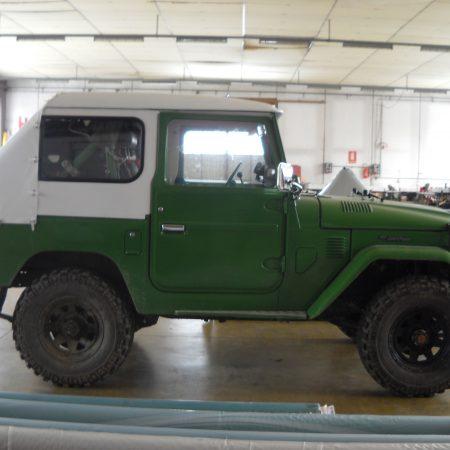 Telo su misura copertura Jeep - Venturello