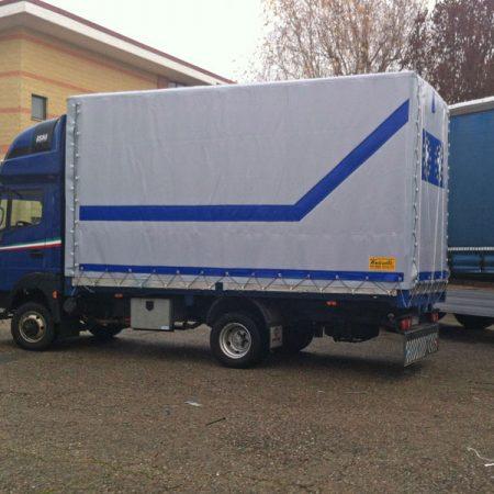Telone centinato coibentante in Isoline - Teloni per camion - Venturello