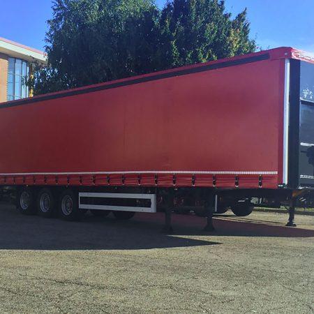Telone centinato per semirimorchio alla francese - Teloni per camion - Venturello