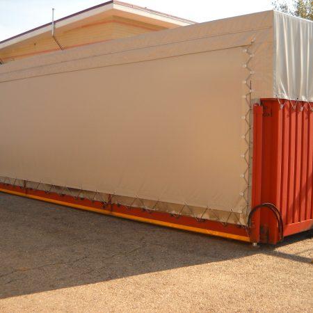 Telone copertura container - Venturello