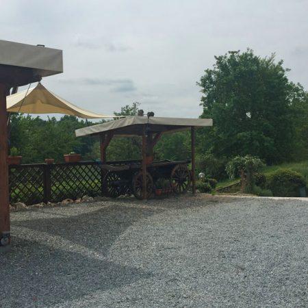 Telone copertura tettoia - Venturello