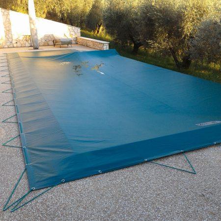 Telone copripiscina La Tana delle Stelle B&B, Fara in Sabina (RI) - Teloni per piscine - Venturello