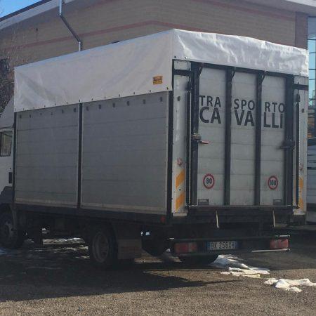 Telone mezzo trasporto cavalli - Venturello