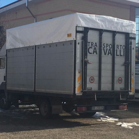 Telone per mezzo di trasporto a cavalli - teloni per camion - Venturello