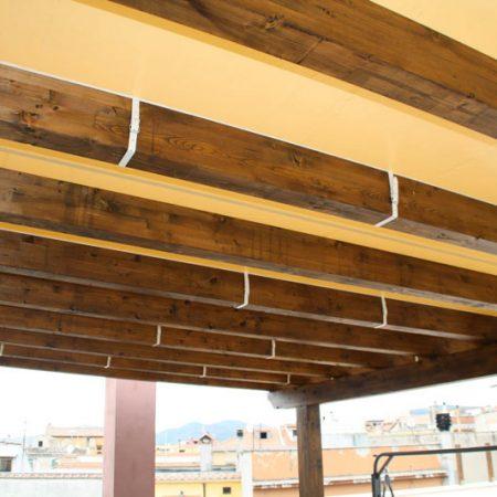 Telone su misura pergola in legno - Venturello