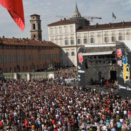 Teloni allestimento Jazz Festival 2015 - Venturello