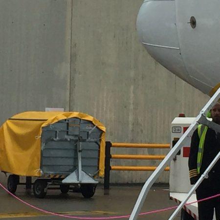 Teloni impermeabili in PVC ignifugo_Aeroporto Torino - Venturello