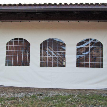 Teloni scorrevoli in PVC - Hased Casa Famiglia Onlus, Riva di Chieri TO - Chiusure per esterno - Venturello